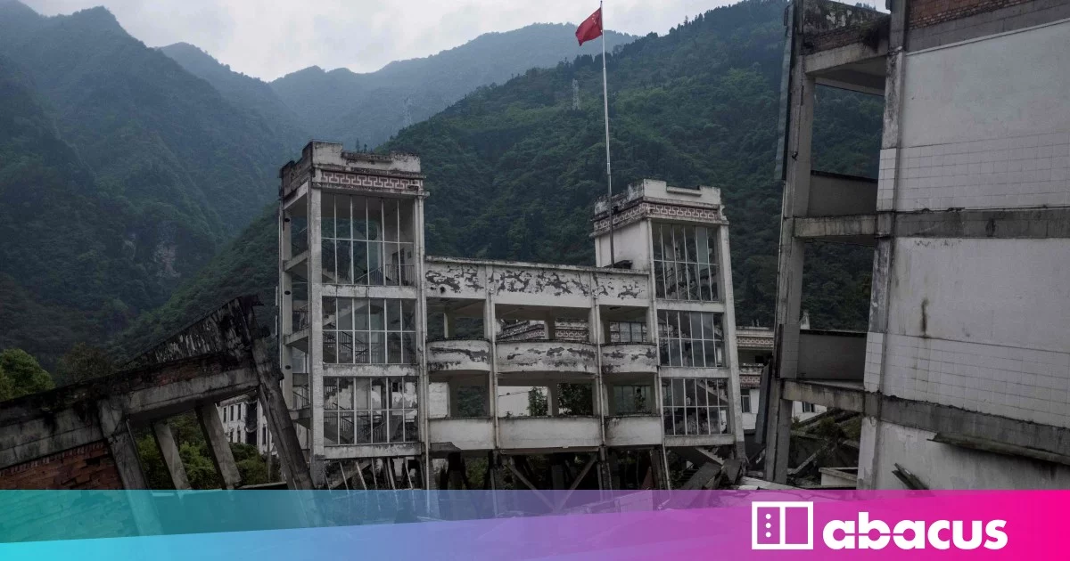Chinese earthquake monitoring system