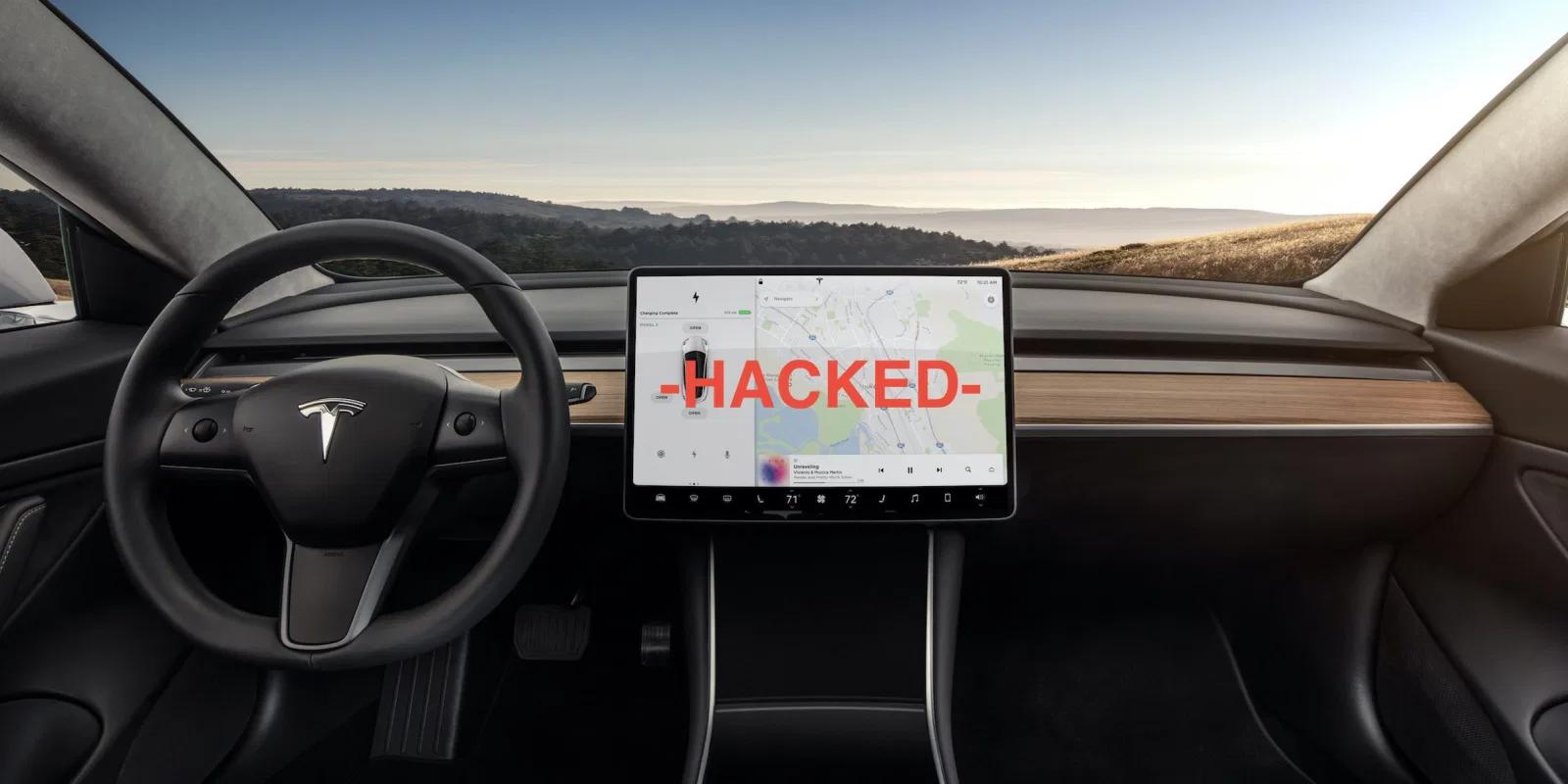 Tesla hacked